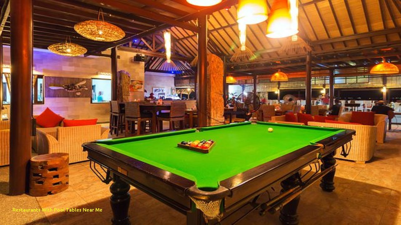 Pool Tables Are Now In Extensive Use At Bars And Restaurants. Pool Tables  Keep The Guests Occupied In The Restaurants. Billiard Tables Can Be Used As  A More ...